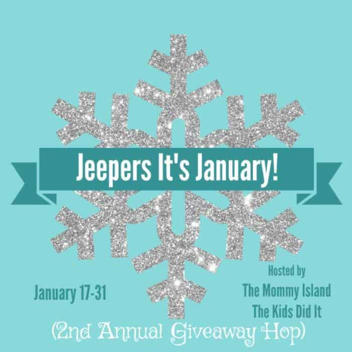Jeepers, It's January! Blog Hop