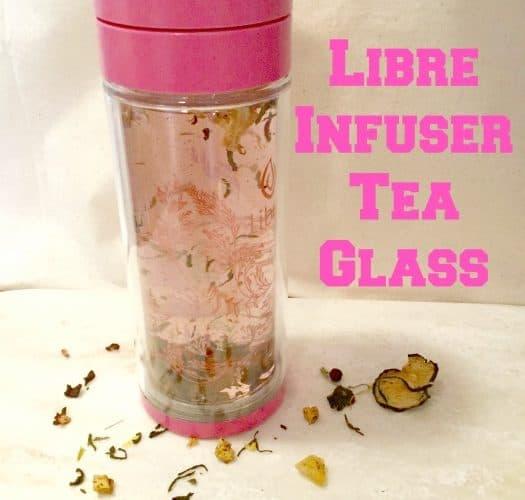 Libre Infuser Tea Glass