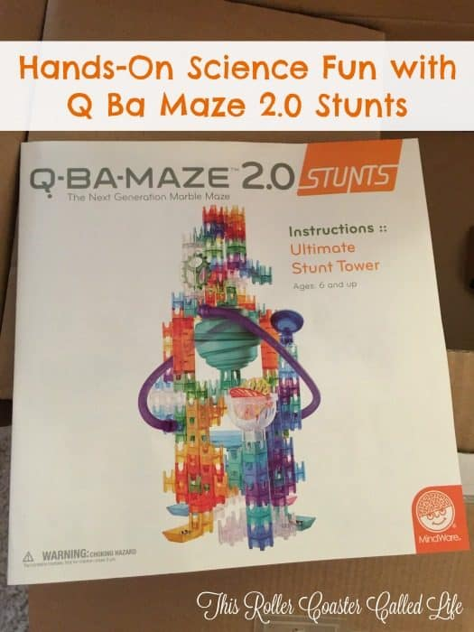 Hands-On Science Fun with Q-Ba-Maze 2.0 Stunts