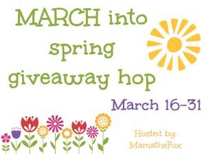 March into Spring Giveaway Hop