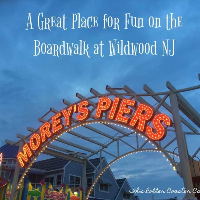 Fun at Morey's Piers in Wildwood NJ
