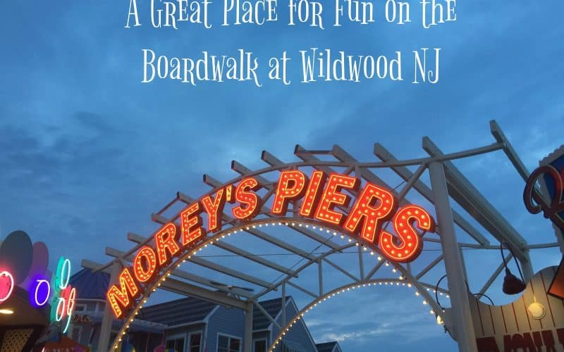 Fun at Morey's Piers in Wildwood NJ