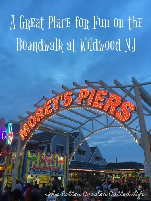 Morey's Piers at Wildwood NJ