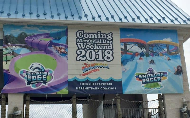 New Rides Coming to Hersheypark Summer 2018 – Breakers Edge & Whitecap Racer