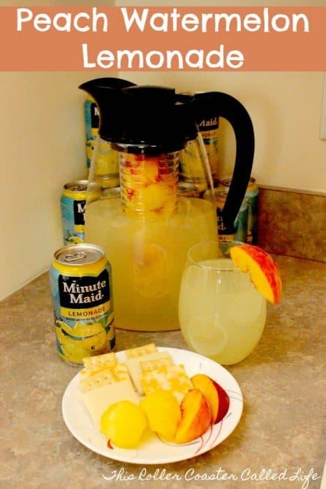 Peach Watermelon Lemonade