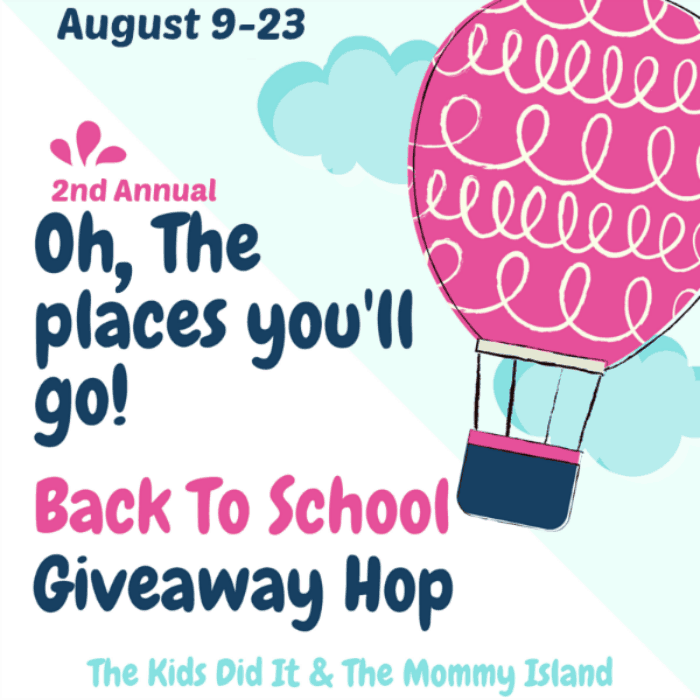 Oh, the Places You'll Go Back to School Giveaway Hop