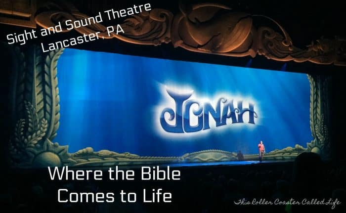 Jonah at Sight and Sound Theatre Lancaster PA