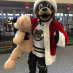Hershey Bears Teddy Bear Toss