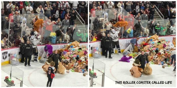 Hershey Bears Teddy Bear Toss 2019