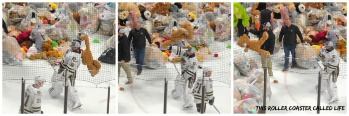 Hershey Bears Teddy Bear Toss